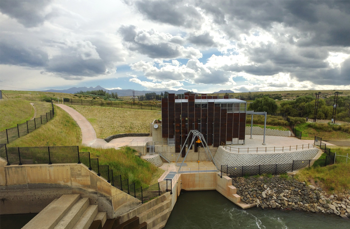 Stortemelk Hydroelectric Plant - Designed by Earthworld Architects & Interiors