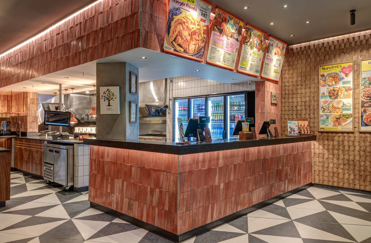 Nando's Savannah Mall - Designed by Earthworld Interiors