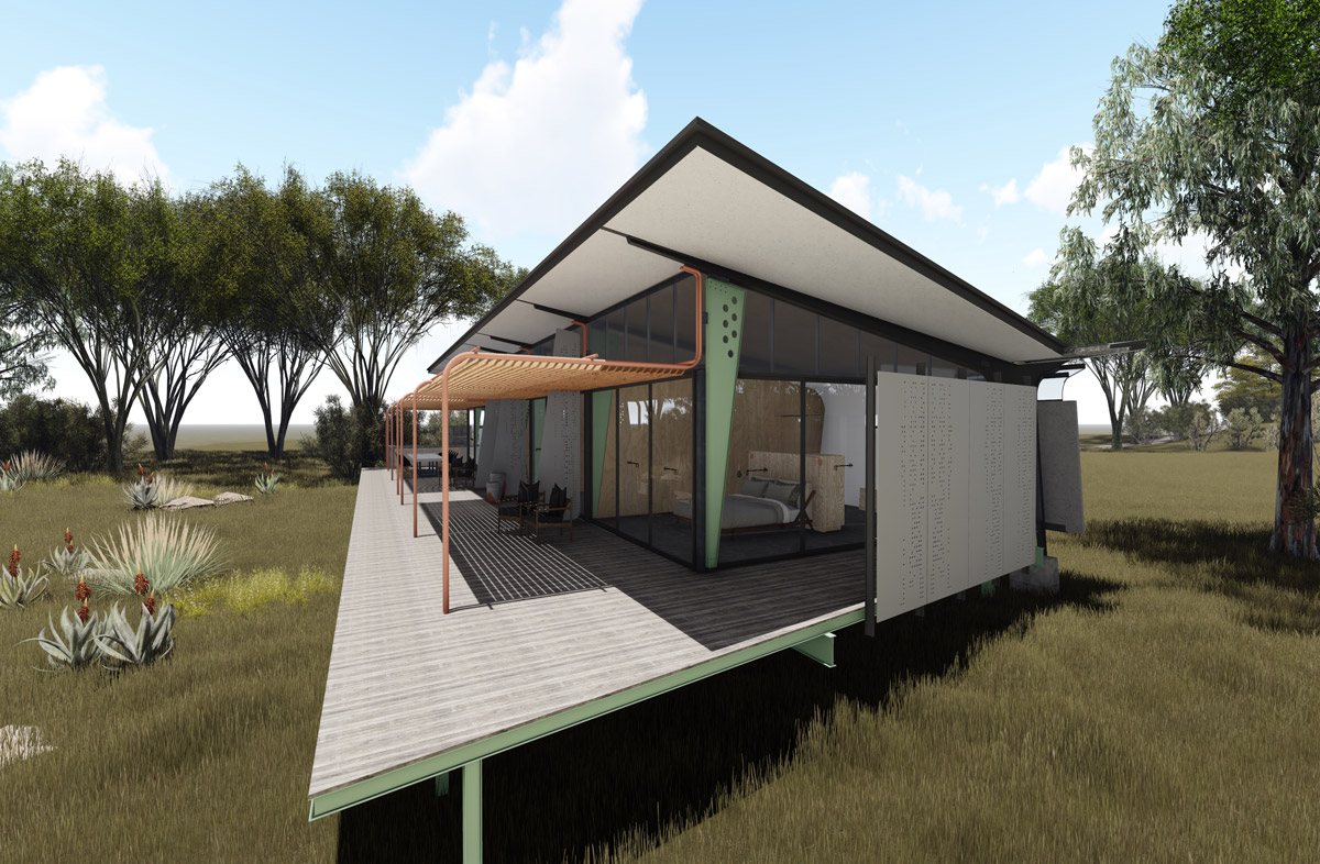 House Glendinning Zambia  - Designed by Earthworld Architects & Inside Interiors