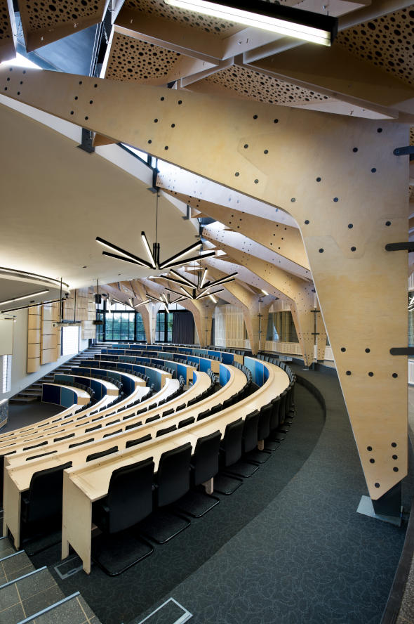 Future Africa - Auditorium  - Designed by Earthworld Architects & Inside Interiors