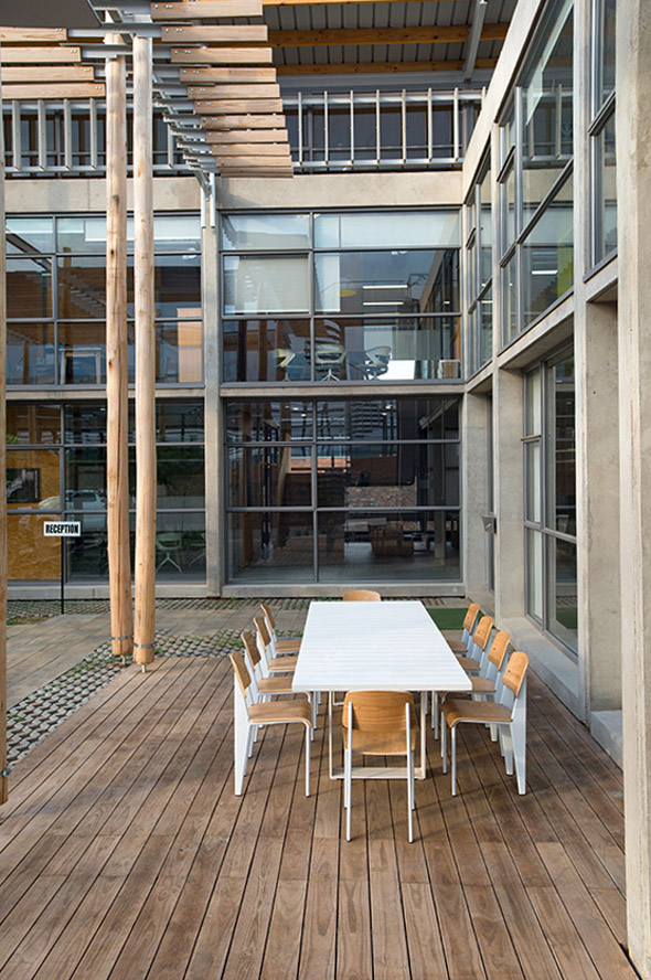 I Cat Eco Factory 2015 Earthworld Architects Amp Interiors