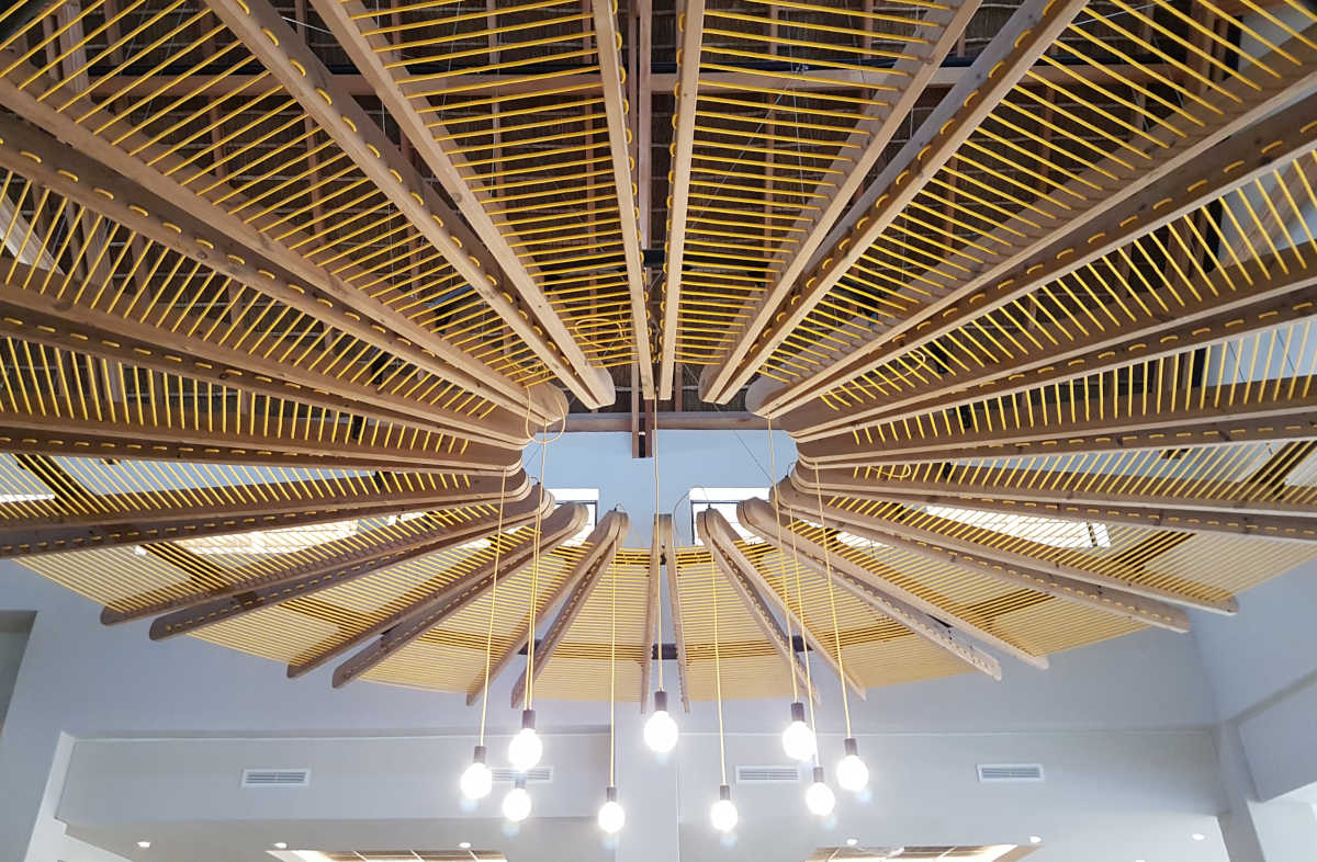 Skukuza Hotel - Ceiling - Designed by Earthworld Architects and Interiors