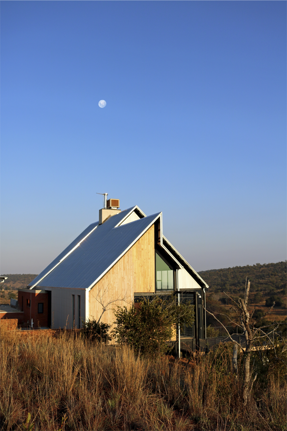 House van der Westhuizen - Designed by Earthworld Architects