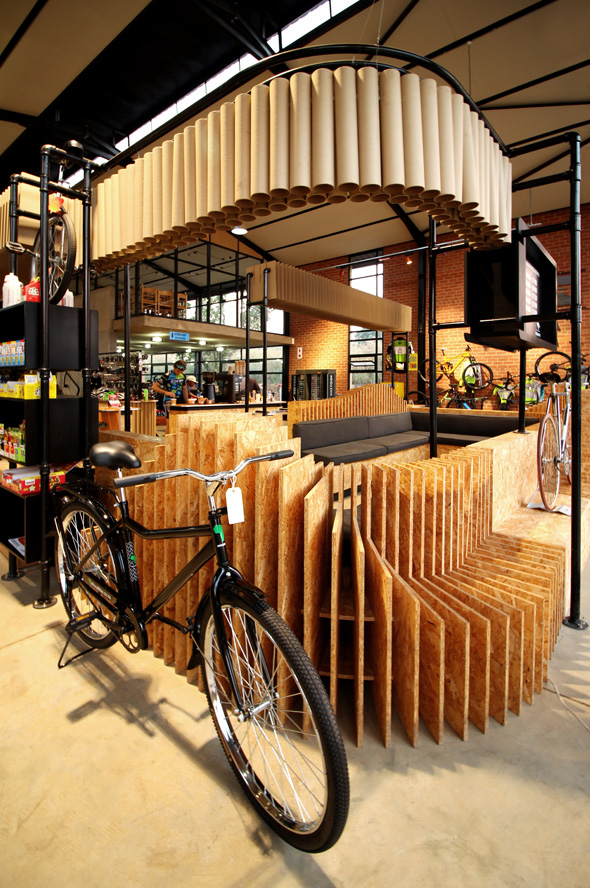 Trailwolf Cycles - Designed by Earthworld Architects & Interiors